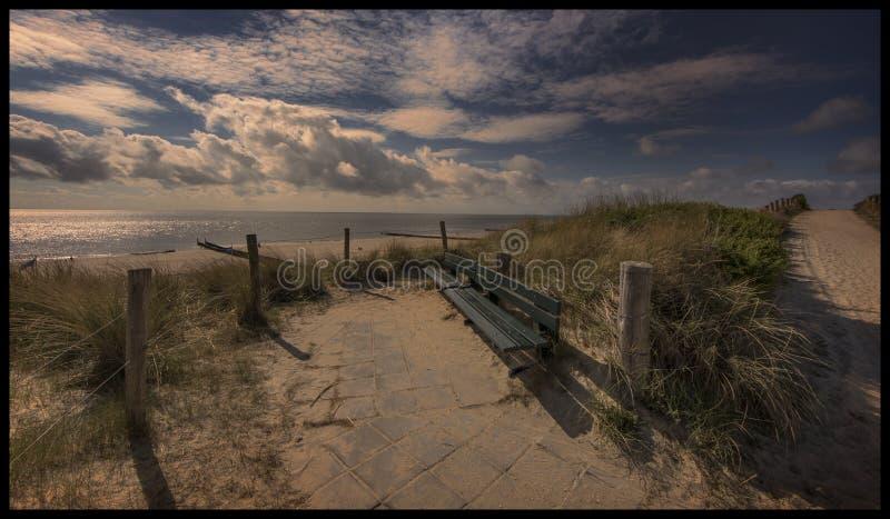 Diuny Zeeland zdjęcia stock