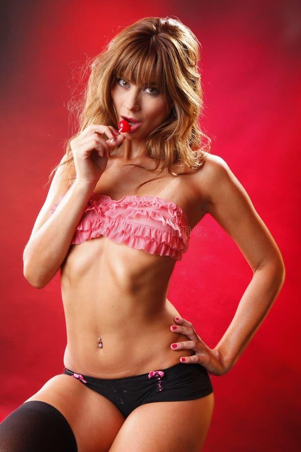 Diva de Lollypop imagem de stock