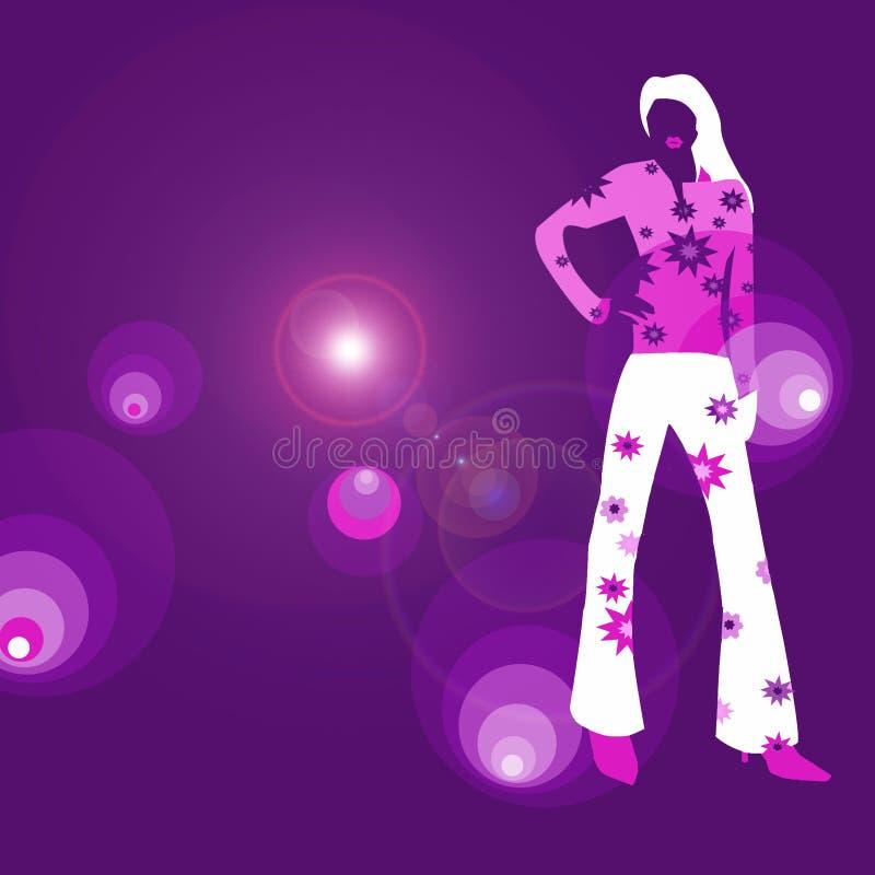 diva disco royalty ilustracja