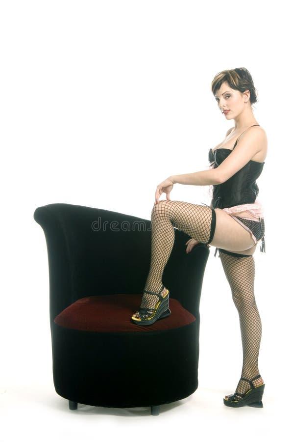 Diva Kabaretowa Obrazy Royalty Free