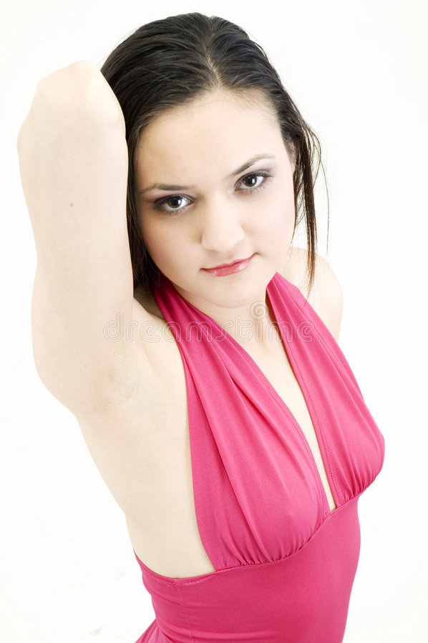Diva pose royalty free stock image