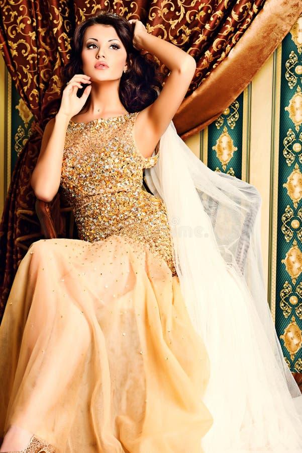 Diva vrouw royalty-vrije stock fotografie