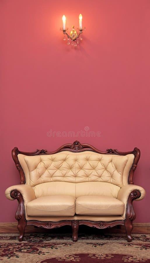 divan arkivfoton