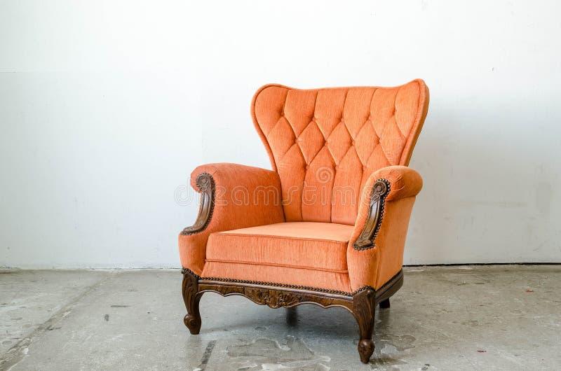 Divan classique de fauteuil de style photos stock