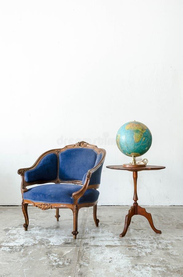 Divan classique de sofa de fauteuil de style photos stock