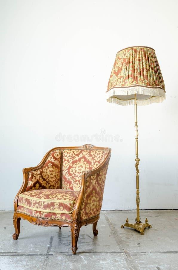 Divan classique royal de sofa de fauteuil de style image stock