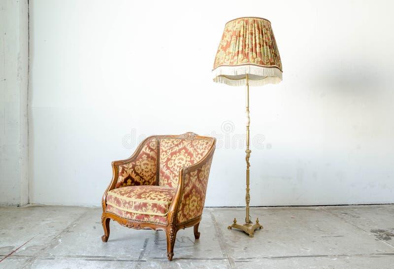 Divan classique royal de sofa de fauteuil de style photo stock