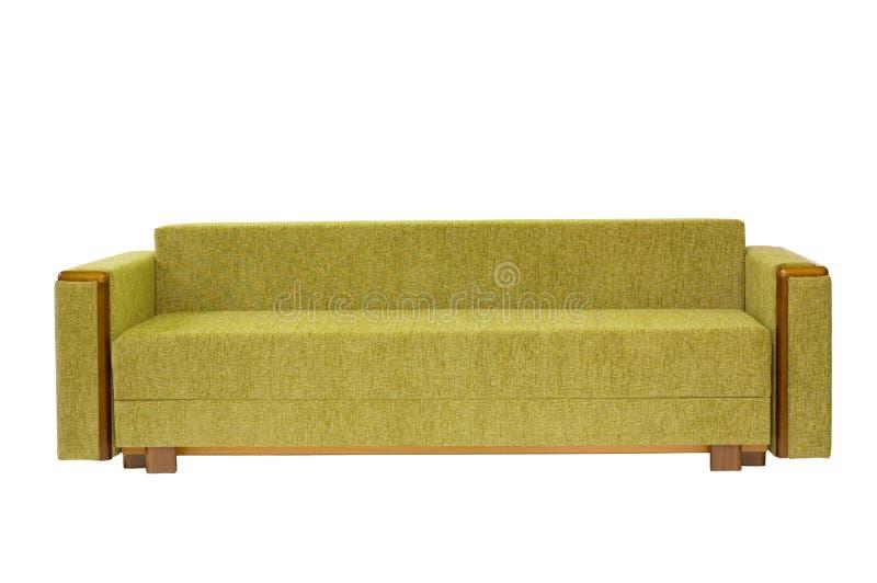 divan d'isolement photo stock