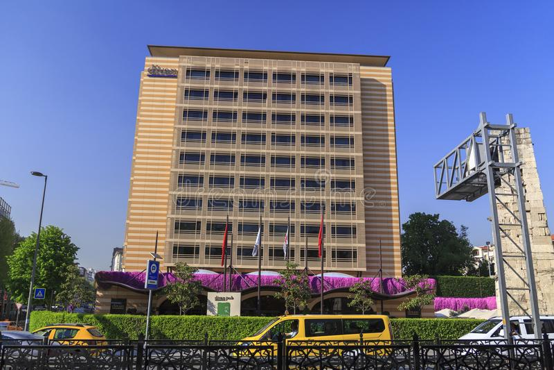 Divan Hotel Taksim, Istanbul royaltyfria foton