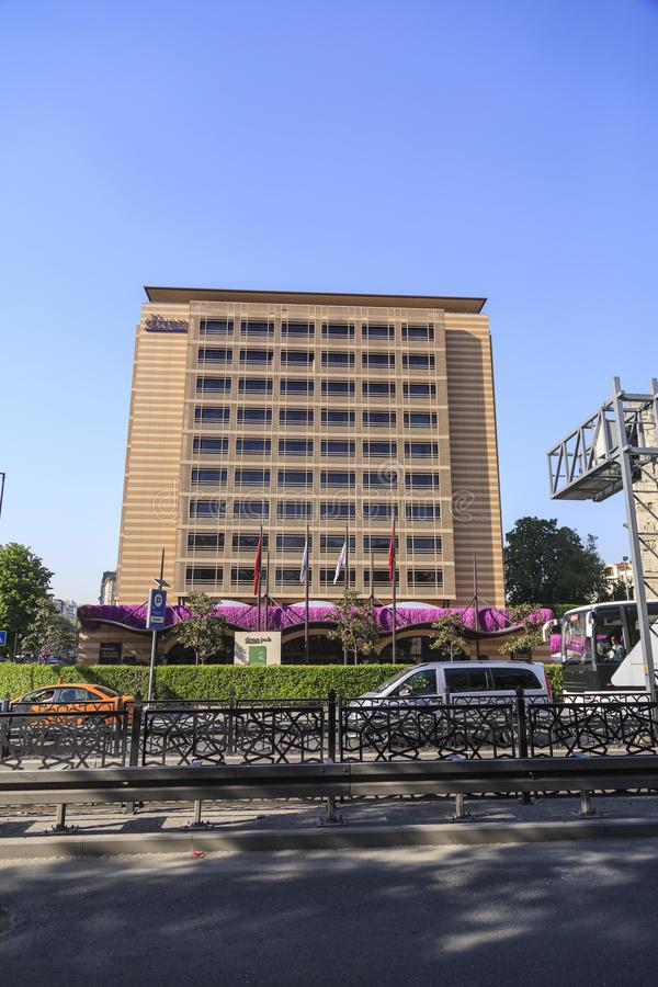 Divan Hotel Taksim, Istanbul arkivfoton