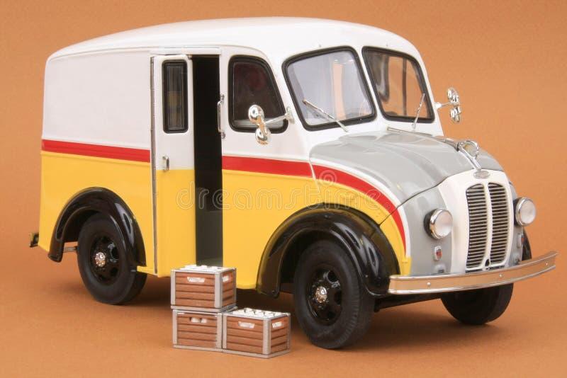 Divco Milk Delivery Van 1950 stock image