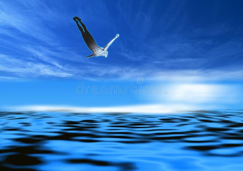 Download Dive stock illustration. Image of diver, grace, sports - 3093064