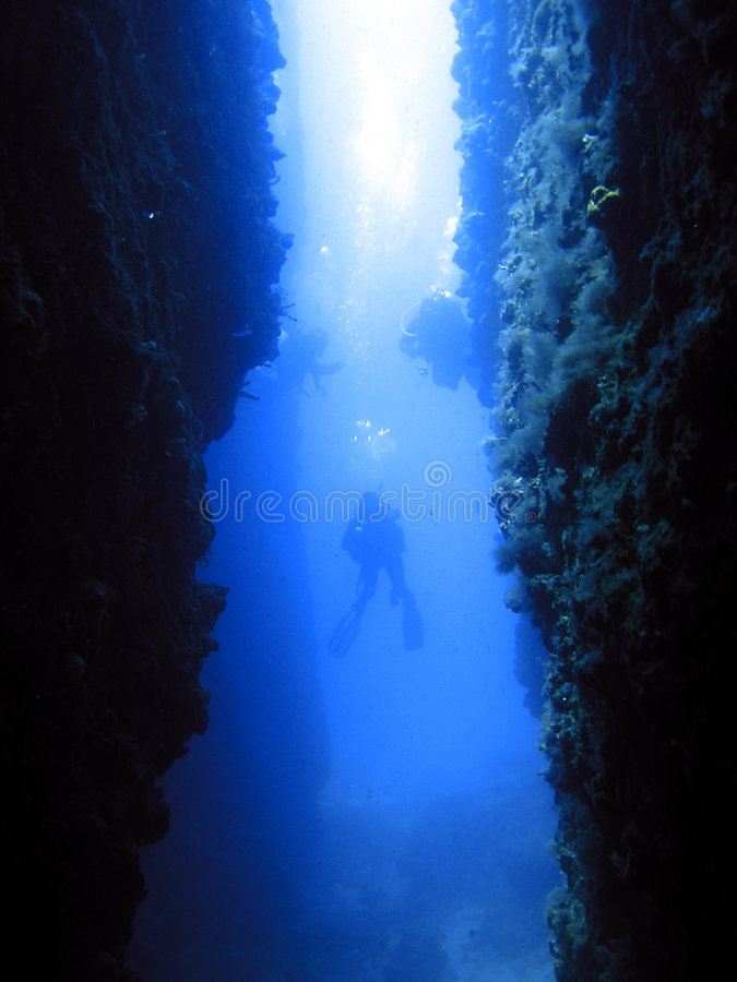Download Dive In Canyon Royalty Free Stock Images - Image: 1314889