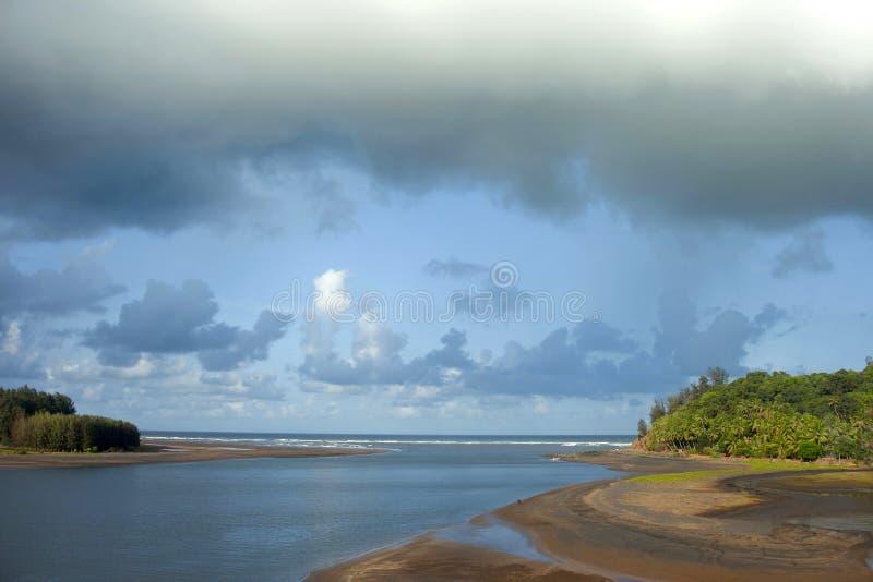 Diveagar strand, Maharashtra, Indien fotografering för bildbyråer