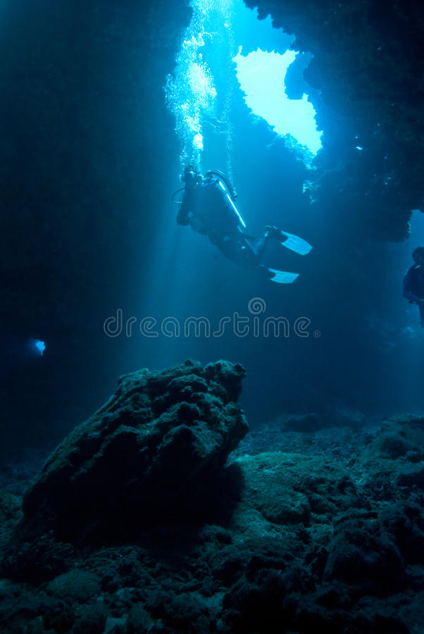 Download Diver At First Cathedrals Stock Photos - Image: 17978573
