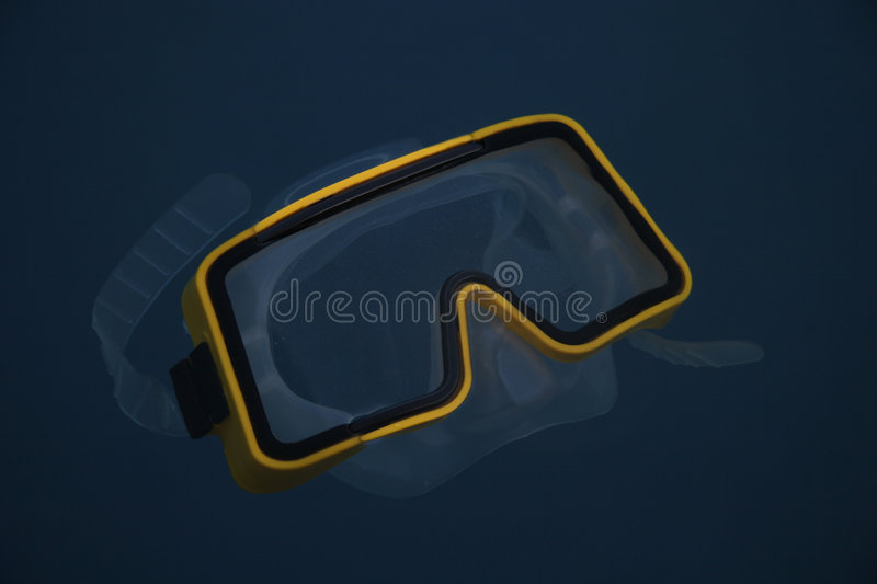 Diver's mask stock image