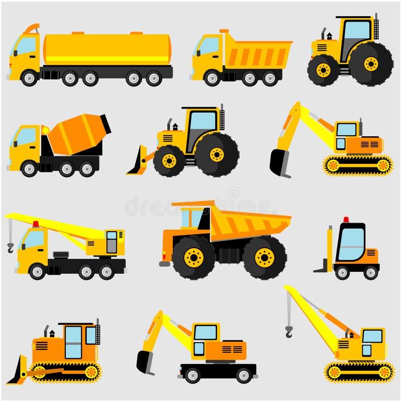 Divers équipement lourd illustration de vecteur