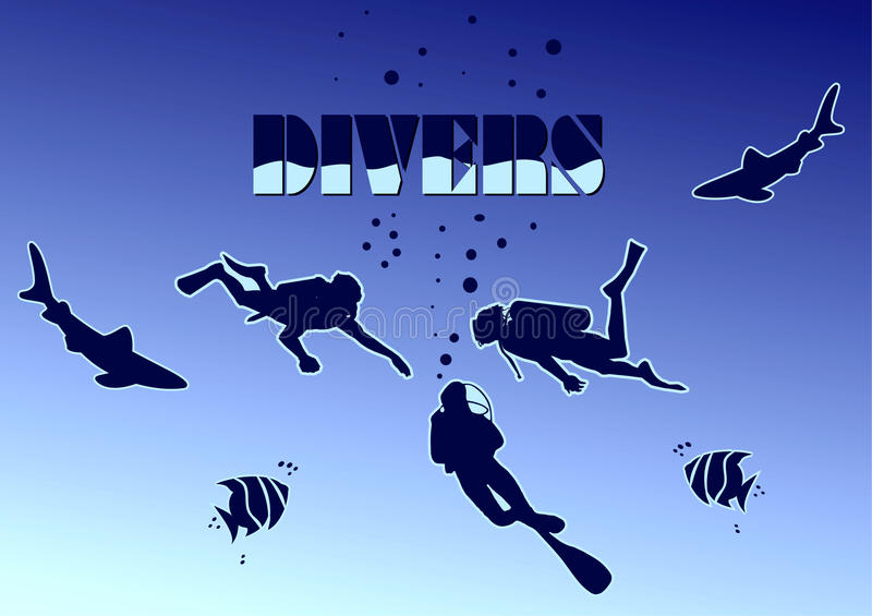 Divers Stock Images