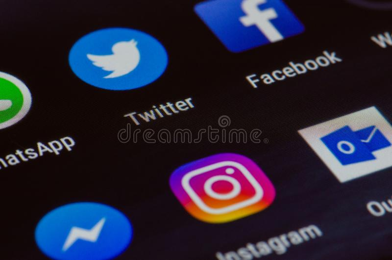 Divers appli images libres de droits