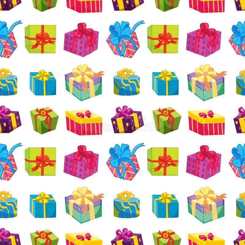 Divers boîte-cadeau illustration libre de droits
