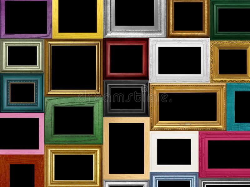 Divers cadres de tableau photos stock