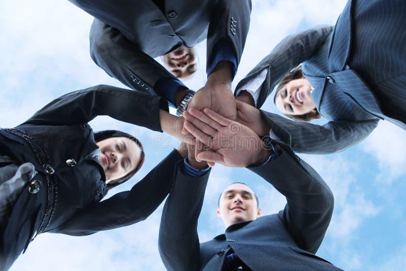 Divers Commercieel Team royalty-vrije stock foto's