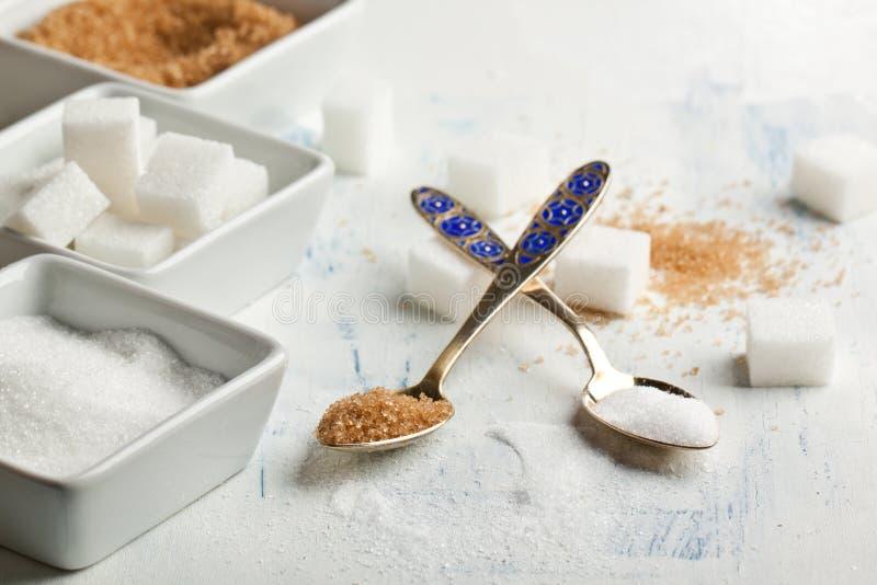 Divers du sucre images libres de droits