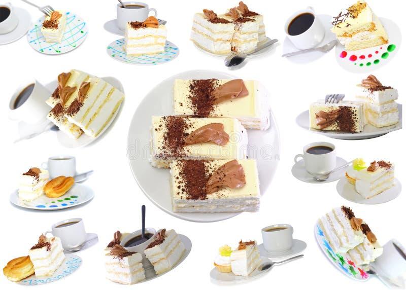 Divers gâteaux photographie stock libre de droits