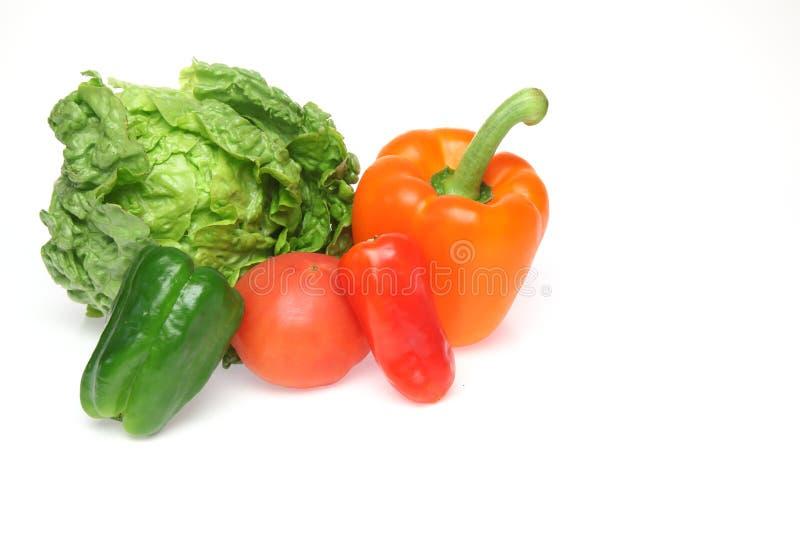 Divers genre de légume à un arrière-plan blanc photo stock