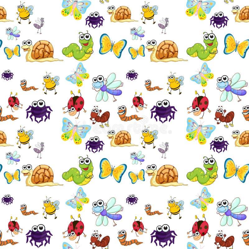 Divers insectes illustration libre de droits