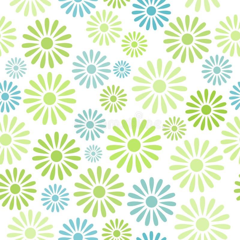 Divers kleurrijk bloemen naadloos patroon vector illustratie