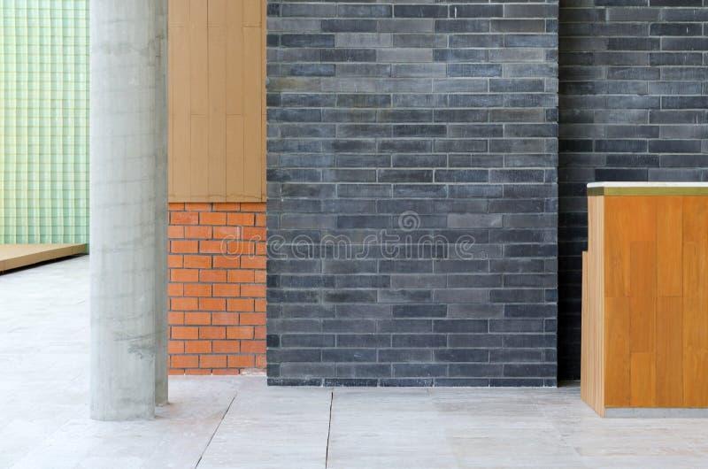 Divers materiaal in een modern gebouw royalty-vrije stock fotografie