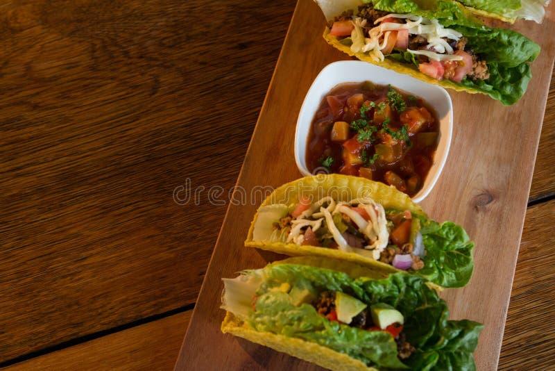 Divers Mexicaans voedsel stock fotografie