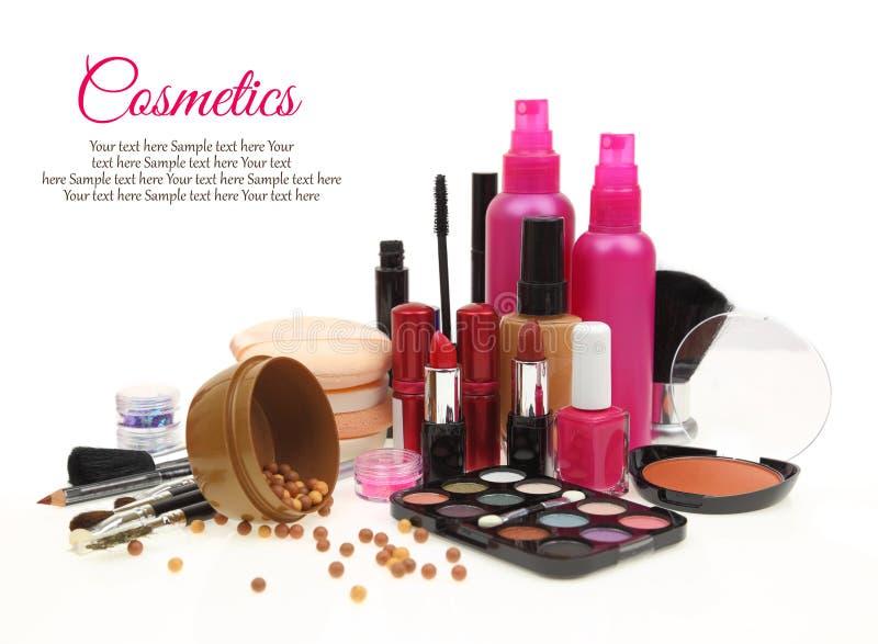 Divers produits de beauté photo stock