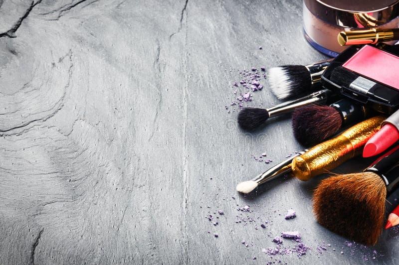 Divers produits de maquillage photos libres de droits
