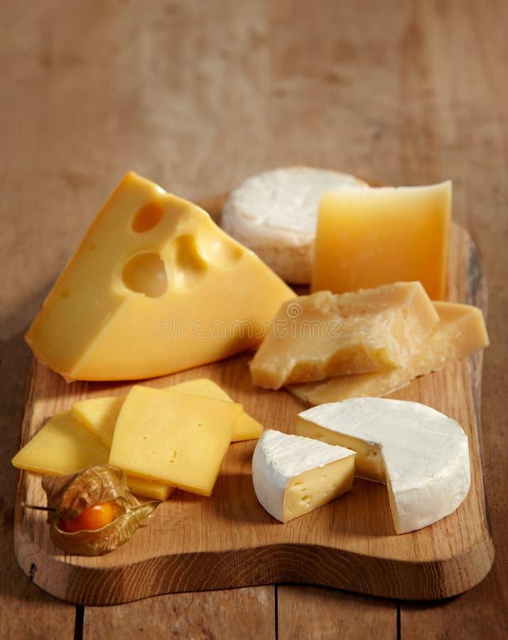 Divers types de fromage photos stock