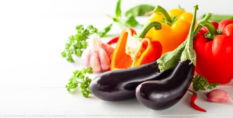 Divers types de légumes frais images stock