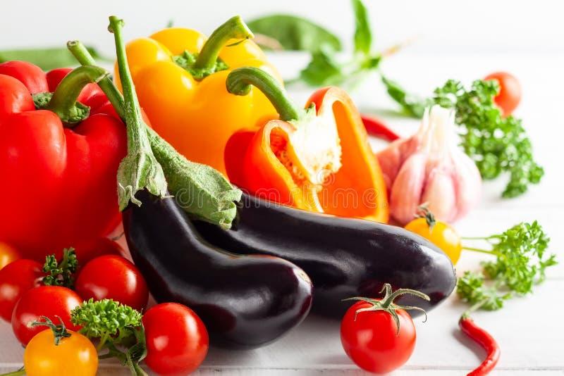 Divers types de légumes frais photos libres de droits