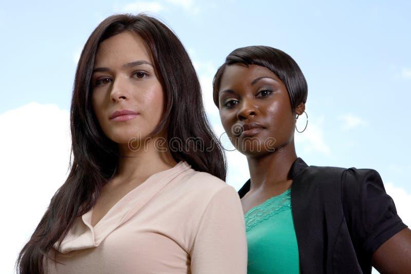Divers vrouwen commercieel team stock afbeeldingen