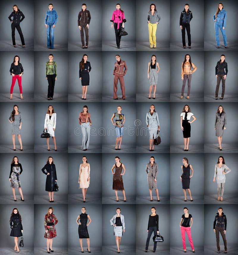 Diversa ropa ilustración del vector
