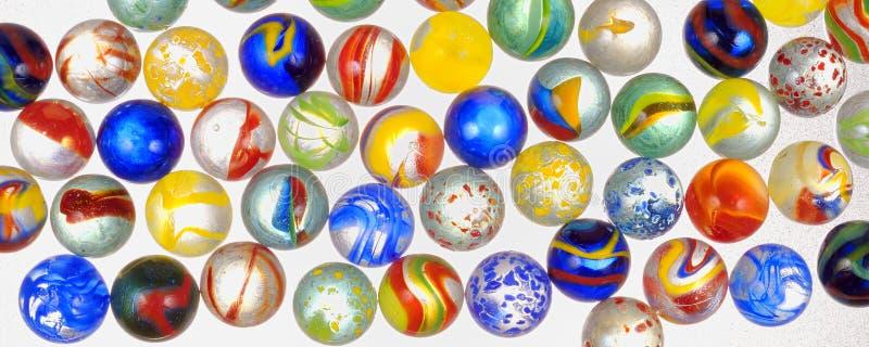Diversas bolas de cristal foto de archivo