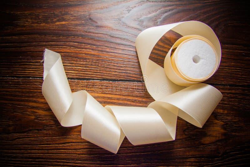 Diversas cintas de seda fotografía de archivo libre de regalías