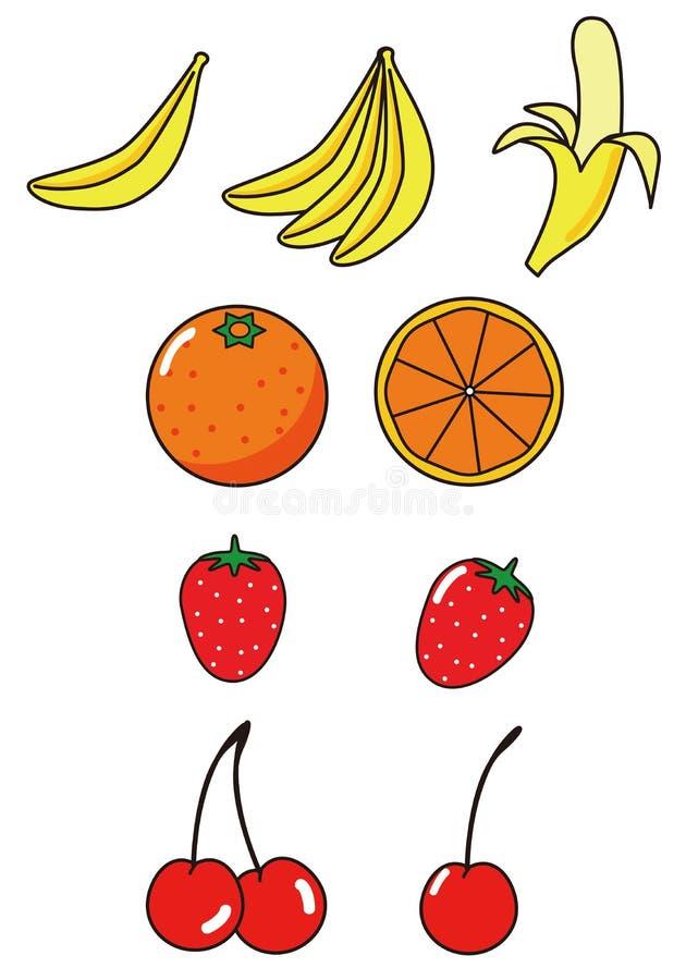 Diversas clases de fruta fotografía de archivo