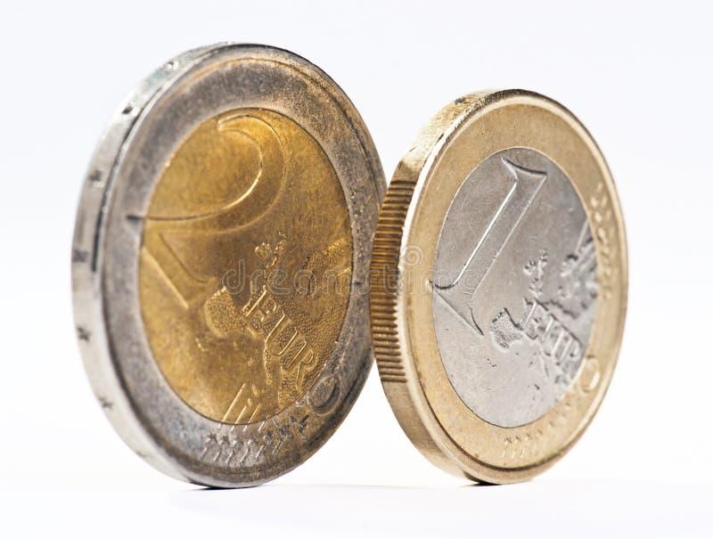 Download Diversas moedas do euro foto de stock. Imagem de europa - 26509302
