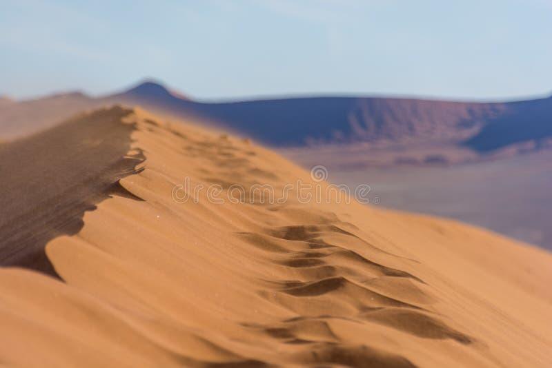 Diversas vistas de la duna 45 en el desierto de Namib imagenes de archivo