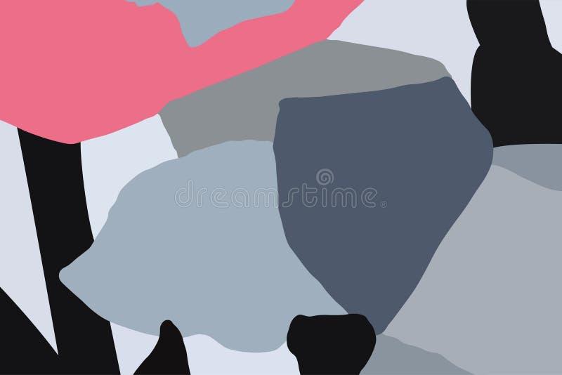 Diversas y diversas formas geométricas ilustración del vector