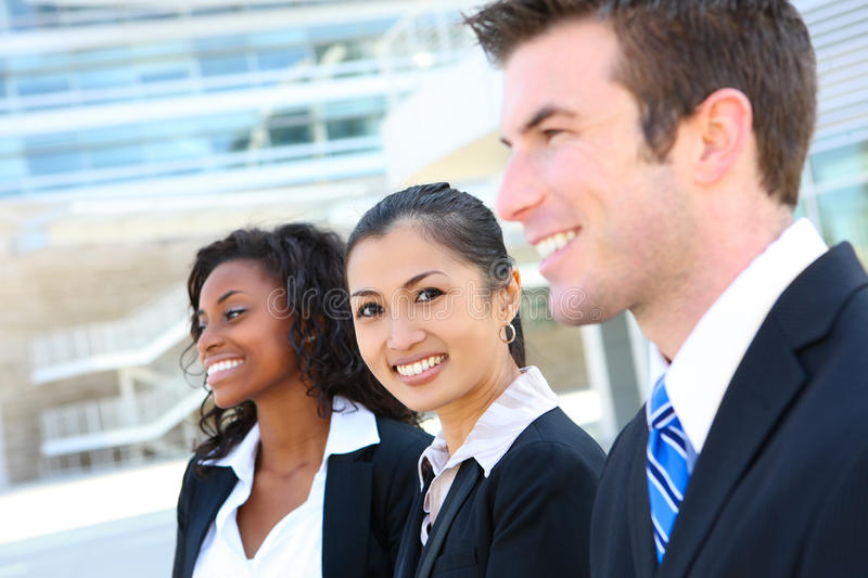 Download Diverse Attractive Business Team Stock Image - Image: 13786125