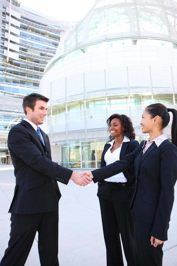 Download Diverse Attractive Business Team Stock Image - Image: 13914769