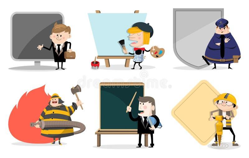 Diverse banen royalty-vrije illustratie