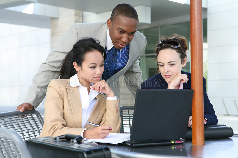 Diverse Business Group stock image